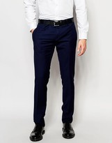 Antony Morato Suit Pants with Stretch in Super Slim Fit