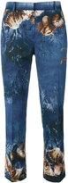Alberta Ferretti seashells print trousers