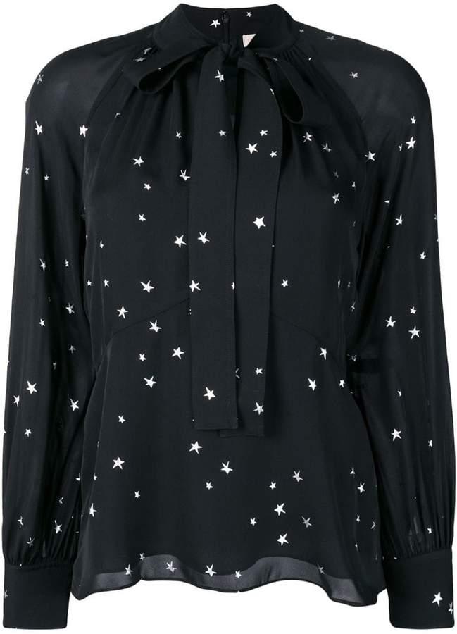 Tory Burch Stargazer print blouse