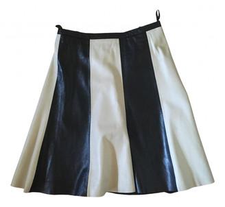 Drykorn Black Leather Skirt for Women