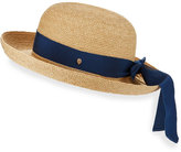 Helen Kaminski Newport Upturn Sun Hat, Natural/Blue