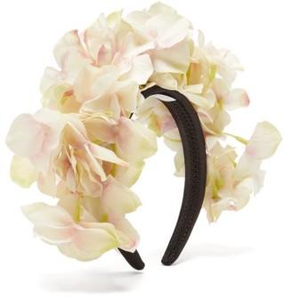 Philippa Craddock - Pale Hydrangea Faux-flower Headband - Womens - White