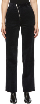 ANDERSSON BELL Navy Corduroy Smith Trousers