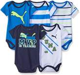 Puma Boys' 5 Pack Bodysuits