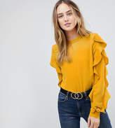 Y.A.S Tall Sufia Ruffle Side Blouse
