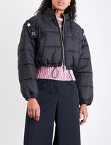 3.1 Phillip Lim Detachable-sleeve quilted shell puffer jacket