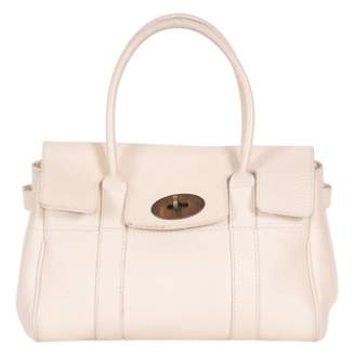 Mulberry Bayswater Small White Leather Handbags