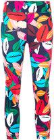 The Upside patterned 3/4 length leggings