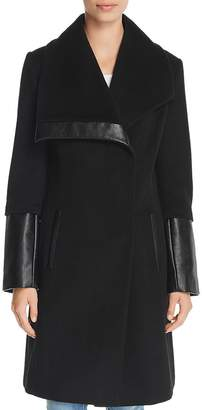Via Spiga Oversized Collar Coat