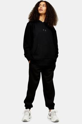 Topshop Womens Black 90S Oversized Joggers - Black