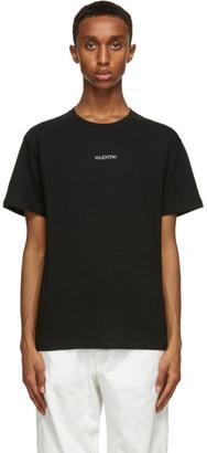 Valentino Black Logo T-Shirt