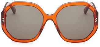 Stella McCartney 56MM Octagon Sunglasses