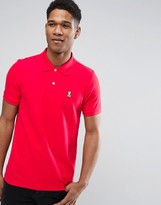 Psycho Bunny Polo Shirt In Red