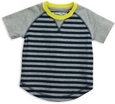 Sovereign Code Boys' Contrast Sleeve Striped Tee