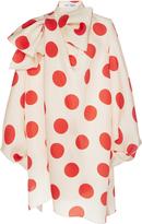 Dice Kayek Polka Dot Mini Dress