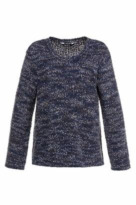 Ulla Popken Women's Pullover Popcorngarn Sweater