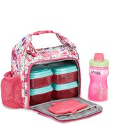 Fit & Fresh Willow Hoot Garden Insulated Lunch Kit