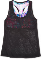 Ideology Tank Top with Built-In Bra, Big Girls (7-16), Created for Macy's
