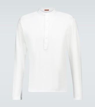 Barena Long-sleeved Henley shirt