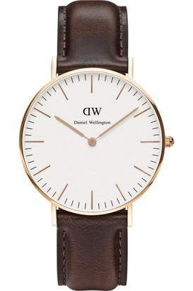 Daniel Wellington Ladies Bristol Rose 36mm Watch DW00100039