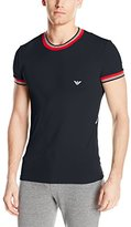 Emporio Armani Men's Standard Racing Stripes Crew Neck T-Shirt