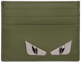 Fendi Green 'Bag Bugs' Card Holder