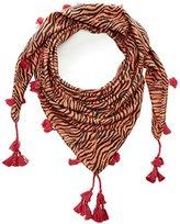 Kaporal Women's Animal Print Shawl Red Rouge (Capuci)