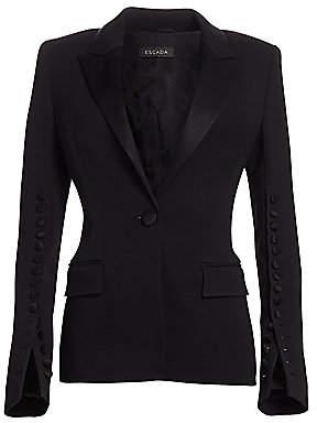 Escada Women's Brikenali Embellished Tuxedo Jacket