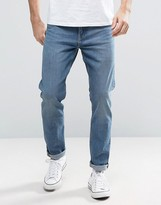 Weekday Sunday Tapered Jeans Drop Crotch Cotton Blue