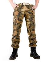 Tortor 1bacha Men's Army Military Camo Cargo Pants Land