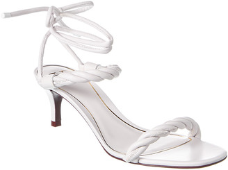 Valentino Ankle Strap Leather Sandal