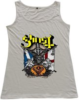 balalaboomda Ghost BC Doom Metal Womens Sleeveless Tank Tops Shirts Sports