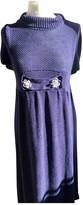 Manoush Purple Wool Dress for Women