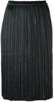 Aviu pleated skirt - women - Polyester - 46