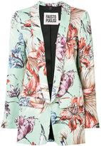 Fausto Puglisi floral print blazer - women - Silk/Spandex/Elastane/Acetate/Viscose - 40