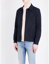 Ps By Paul Smith Workwear Linen And Cotton-blend Jacket