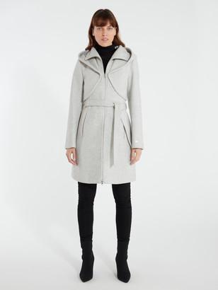 Soia & Kyo Arya Hooded Wool Coat