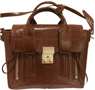 3.1 Phillip Lim Pashli Red Patent leather Handbags
