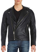 Selected Leather Moto Jacket