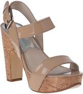 MICHAEL Michael Kors Ivana Platform Sandal Mocha Leather