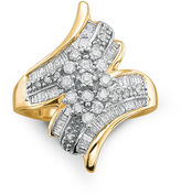 JCPenney FINE JEWELRY Diamond Ring 3/4 CT. T.W. 10K Gold