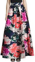 Eliza J Floral Maxi Skirt