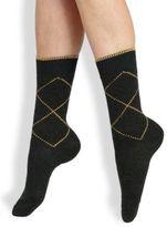 Maria La Rosa Rhombus Mid-Calf Socks
