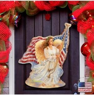 Designocracy by Dona Gelsinger American Freedom Angel Wall and Door Hanger