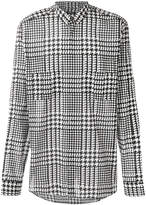 Balmain Prince of Wales checked shirt