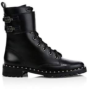Sophia Webster Women's Bessie Leather Combat Boots