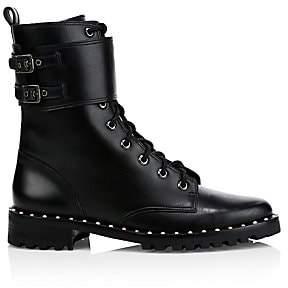 Sophia Webster Women's Bessie Leather Combat Boots