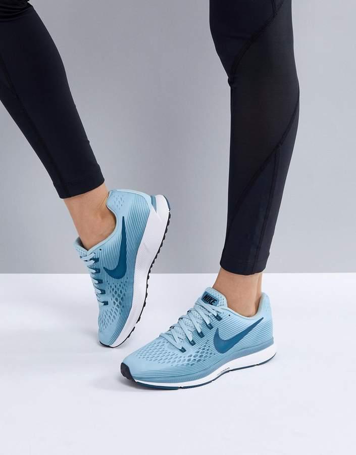 Nike Running Air Zoom Pegasus Sneakers In Blue