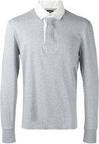 Tom Ford contrast collar polo shirt - men - Cotton - 46