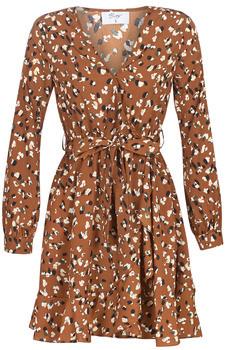 Betty London LISONS women's Dress in Brown